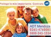 0261-4760081 Instalación de Alarmas ADT en Mendoza