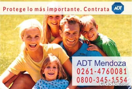 Alarmas adt en mendoza  tel (fijo): 0261-4760081 - 0800-345-1554