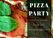 Pizza party . alquiler de livings, gazebos - zona sur