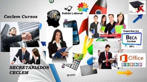 Cursos administrativos salida laboral, presencial, sin requisitos
