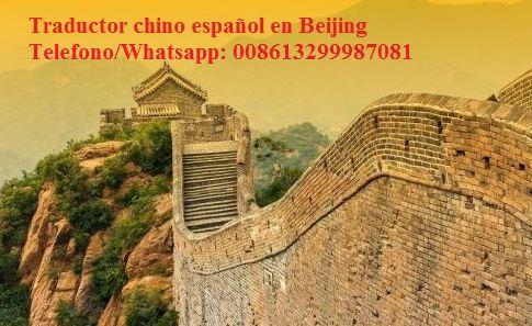 Intérprete chino español en pekín, china