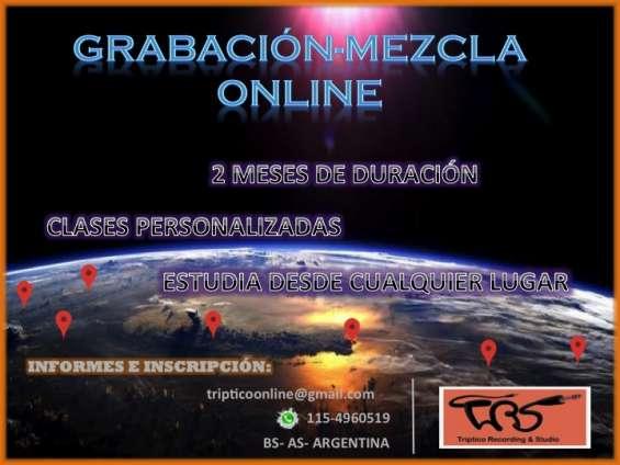 Grabacion - mezcla on line!!!