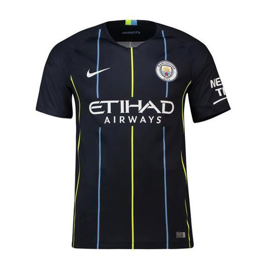 Tailandia camiseta manchester city segunda 2018-2019