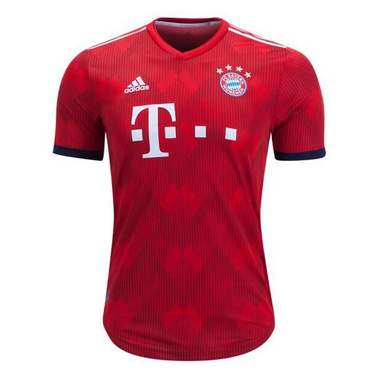 Camiseta de futbol bayern munich authentic primera 2018-2019