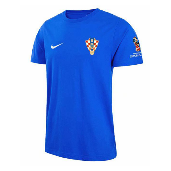 Camiseta croacia copa mundial 2018 azul