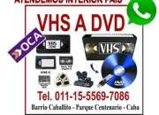VHS a DVD .Todo A DVD
