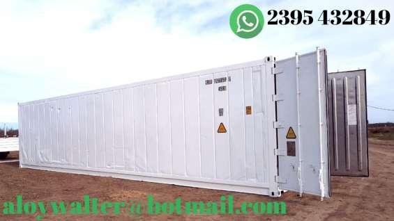 Container camara frigorifica contenedor refrigerados