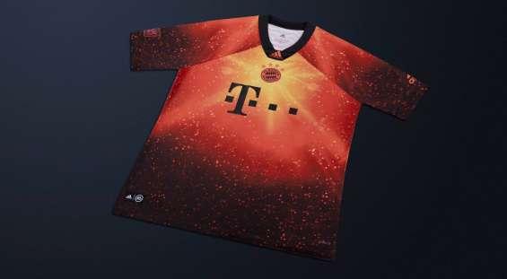 Camiseta bayern munich ea sports 2018-2019
