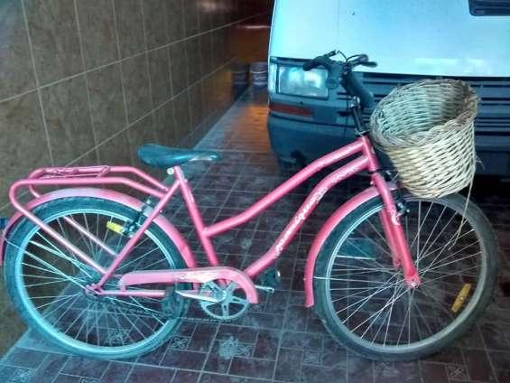 Vendo bicicleta playera en muy buen estado,rod. 26