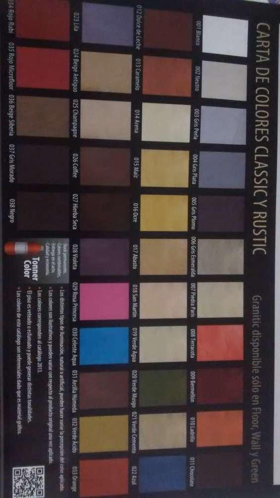 Los colores de microcemento