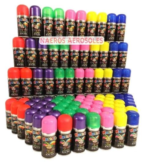 Pintapelo cotillon packs x12 colores surtidos pintura para el pelo lavable