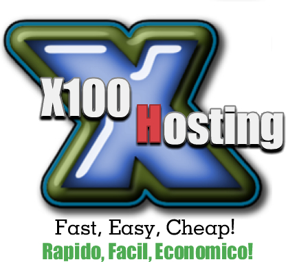 Alojamiento y diseno de pagina web, web design x100host